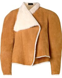 Isabel Marant - Acacia Reversible Shearling And Suede Jacket - Lyst