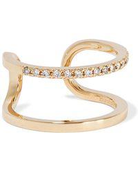Hirotaka - Manhattan 10-karat Gold Diamond Ring Gold 3 - Lyst