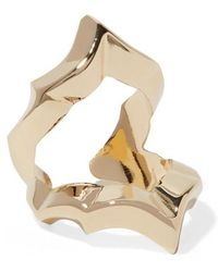 Jennifer Fisher - Crystal Gold-plated Ring - Lyst