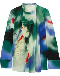Lemaire | Printed Silk Blouse | Lyst