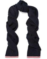 Rag & Bone - Jubilee Metallic Merino Wool-blend Scarf - Lyst