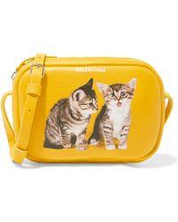 Balenciaga - Kitten Everyday Camera Bag Xs - Lyst
