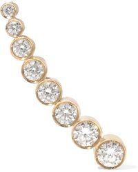 Sophie Bille Brahe - Croissant De Lune 18-karat Gold Diamond Ear Cuff - Lyst