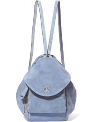 MANU Atelier - Fernweh Mini Suede Backpack - Lyst