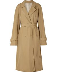 The Row - Nueta Oversized Wool-blend Trench Coat - Lyst