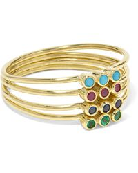 Jennifer Meyer - 18-karat Gold Multi-stone Ring - Lyst