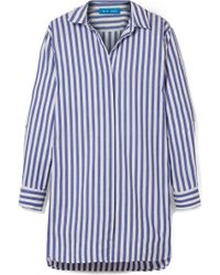 M.i.h Jeans - Oversized Striped Cotton Shirt - Lyst