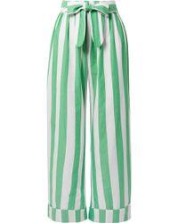 Mara Hoffman - Sasha Striped Organic Cotton Pants - Lyst
