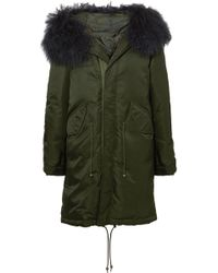 Mr & Mrs Italy | New York Shearling-trimmed Shell Down Parka | Lyst