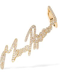 Stephen Webster - + Tracey Emin More Passion 18-karat Gold Diamond Ear Cuff - Lyst