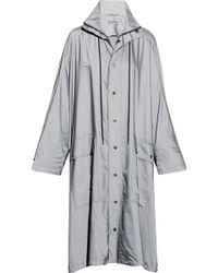 Balenciaga - Opera Oversized Printed Reflective Shell Raincoat - Lyst
