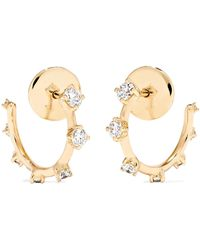Fernando Jorge - Sequence 18-karat Gold Diamond Hoop Earrings - Lyst