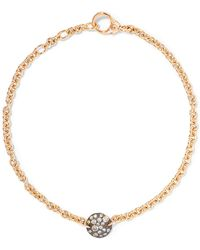 Pomellato | Sabbia 18-karat Rose Gold Diamond Bracelet | Lyst