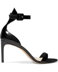 Sophia Webster - Nicole Patent-leather Sandals - Lyst