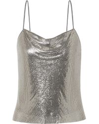 Alice + Olivia - Harmony Chainmail Camisole - Lyst