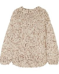 Brunello Cucinelli - Sequined Chunky-knit Jumper - Lyst