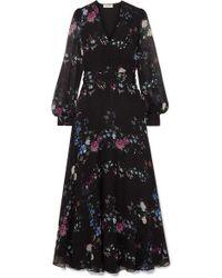 c120d5a2a53 Equipment - + Tabitha Simmons Clemense Ruffled Floral-print Silk-chiffon  Maxi Dress -