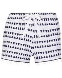 lemlem - Yeshi Cotton-blend Gauze Shorts - Lyst