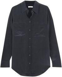 Equipment - Slim Signature Washed-silk Shirt - Lyst