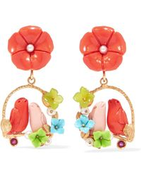 Of Rare Origin - Inseparable Gold Vermeil Multi-stone Earrings - Lyst