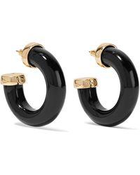 Kenneth Jay Lane - Gold-plated Resin Earrings - Lyst