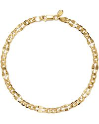 Dean Gold-plated Anklet - one size Maria Black qY51IwC