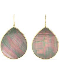 Ippolita - Polished Rock Candy 18-karat Gold Shell Earrings Gold One Size - Lyst