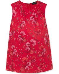 Giambattista Valli - Floral-print Silk-georgette Blouse - Lyst