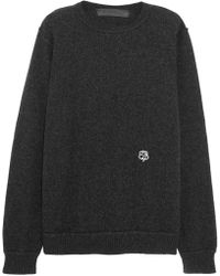 The Elder Statesman - Embroidered Cashmere Sweater - Lyst