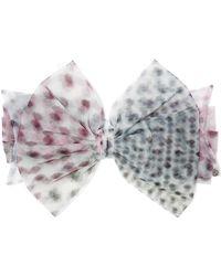 Maison Michel - Betty Polka-dot Tulle Headband - Lyst