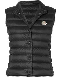 Moncler - Quilted Shell Down Vest - Lyst