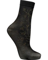 Falke - Sakura Glittered 20 Denier Socks - Lyst