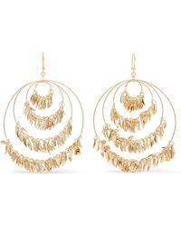 Rosantica - Stella Gold-tone Earrings - Lyst