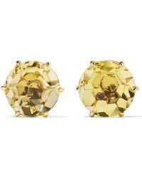 Ippolita - Rock Candy 18-karat Gold Citrine Earrings Gold One Size - Lyst