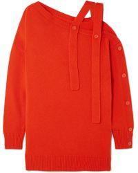 Tomas Maier - One-shoulder Cashmere Sweater - Lyst