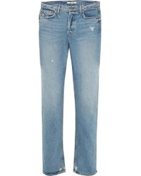 GRLFRND - Helena High-rise Straight-leg Jeans - Lyst