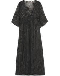 Eres - Barbara Fil Coupé Silk-blend Dress - Lyst