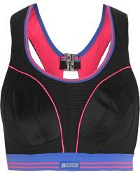 Shock Absorber - Ultimate Run Mesh And Stretch-jersey Sports Bra - Lyst