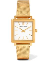 Larsson & Jennings | Norse Gold-plated Watch | Lyst