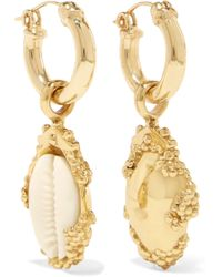 Ellery | Rosalind Gold-plated, Resin And Shell Earrings | Lyst