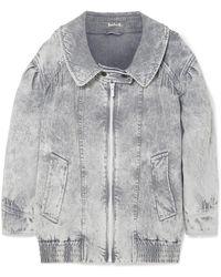 Miu Miu - Oversized Denim Jacket - Lyst