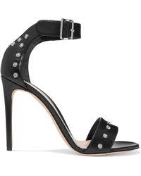 Alexander McQueen | Studded Leather Sandals | Lyst