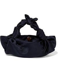 The Row - Ascot Small Satin Tote - Lyst