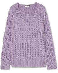 Paul & Joe - Joris Oversized Ribbed-knit Jumper - Lyst