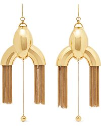 Ellery - Anthology Gold-plated Earrings - Lyst