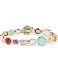 Ippolita | Rock Candy 18-karat Gold Multi-stone Bracelet | Lyst