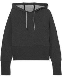 Nike - Cropped Dri-fit Fleece Hoodie - Lyst