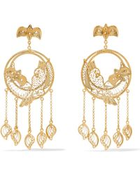 Mallarino - Catalina Gold Vermeil Earrings - Lyst
