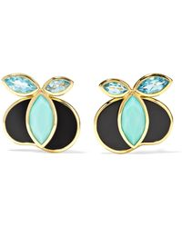 Ippolita - 18-karat Gold Multi-stone Earrings - Lyst
