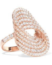Anita Ko - Infinity Forever 18-karat Rose Gold Diamond Ring Rose Gold 7 - Lyst